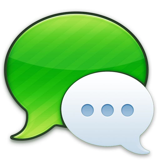 green messages icon replacement for mac os x